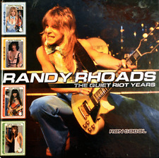 RANDY RHOADS The Quiet Riot Years Book & 90 minute DVD 1st Ed Hard Cover signed