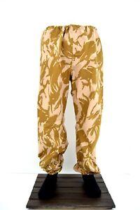 NEW-British-Army-Desert-DPM-Goretex-Over-Trouser-Elasticated-Waterproof-Pants
