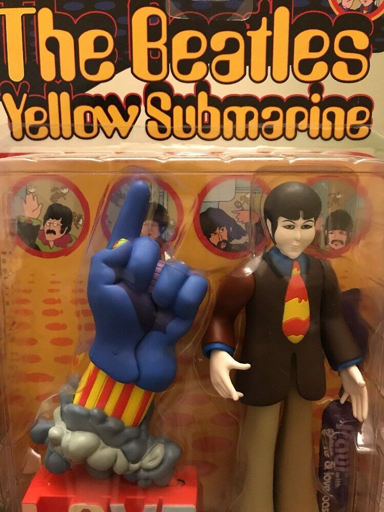 Mcfarlane spielzeug die beatles  Gelb submarine  abbildung paul mit handschuh und liebe base