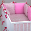 8-pc-cot-cot-bed-bedding-sets-PILLOW-BUMPER-CASES-stars-blue-grey-pink-nursery thumbnail 54