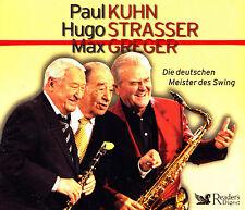 PAUL KUHN, HUGO STRASSER, MAX GREGER - 4 CD - Die deutschen Meister des Swing