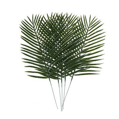 68cm Artificial Areca Palm Leaves Stem Faux Palm Leaf Greenery Tree Leaves Plant