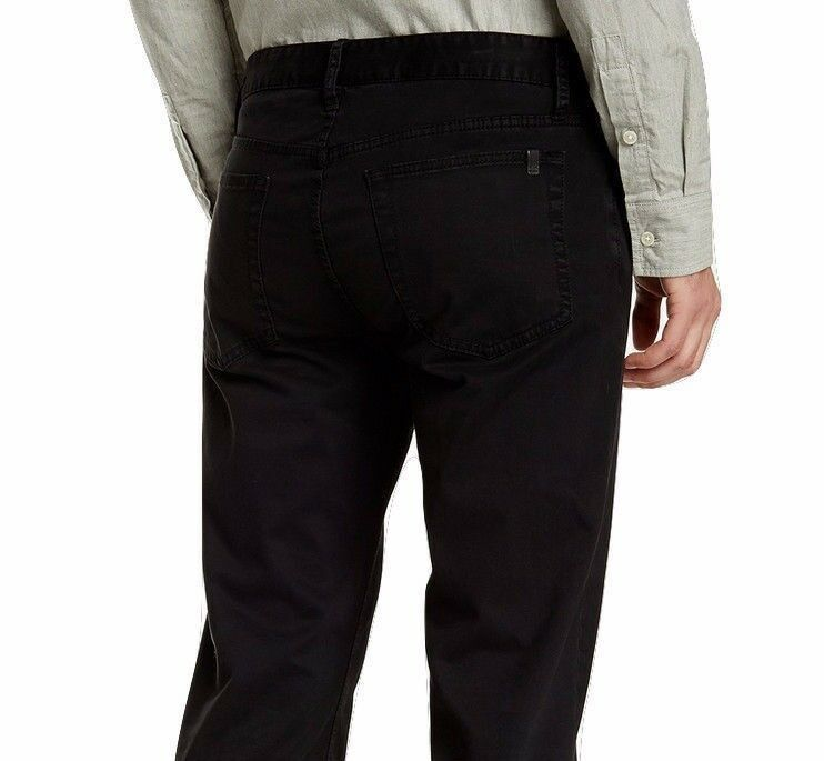Nwt JOE´S Jeans Sz34 der Brixton Gerade Gerade Gerade + Schmal Stretch Twill Jeans Schwarz  | Gewinnen Sie hoch geschätzt  | Up-to-date Styling  | Lebendige Form  4a0745