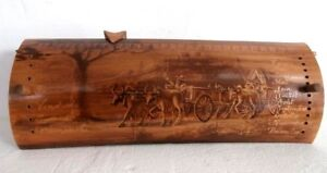 Curiosite-calendrier-perpetuel-bambou-pyrograve-art-populaire-Old-calendar