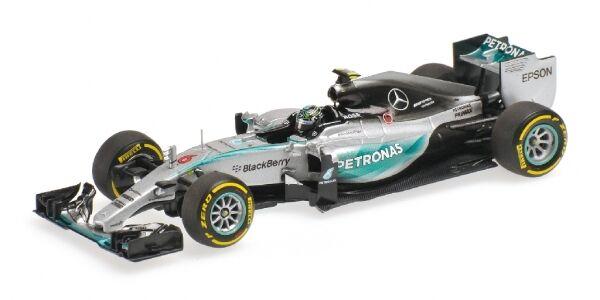 MERCEDES AMG Petronas w06 ibrido Nico Rosberg USA GP 2015 1:43 MODEL MINICHAMPS