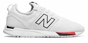 Details about New Balance Men's 247 Classic Shoes White With Black 11.5 D