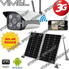 Wireless Security Camera 3G GSM Solar Farm Alarm System Remote Monitoring phone