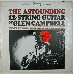 GLEN CAMPBELL The Astounding 12-String Guitar Of LP 1964 COUNTRY FOLK NM- NM-