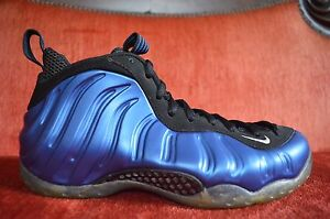 f6686b99125 2010 Nike Air FOAMPOSITE ONE 1 PENNY NEON ROYAL BLUE BLACK 314996 ...