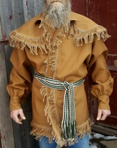 XL Woodsman Frock Coats// jacket for fur trade re-enactments  Size
