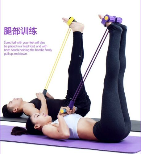 Yoga Equipment Abdominal Exercise Fitness GYM Body Tummy Workout Resistance Band