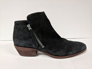 Sam-Edelman-Black-Ankle-Booties-Womens-12-M