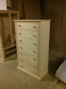 Image Is Loading OLD MILL PINE FURNITURE VICTORIAN RANGE 7 DRAWER