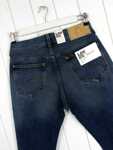 NEW  LEE 101 TAPERED  HEAVY DUTY 16oz JEANS SELVEDGE DENIM SLIM  FIT/_/_ ALL SIZES