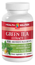 Organic Tea Extract - 300MG GREEN TEA EXTRACT - Supports Cardio Health - 1Bot