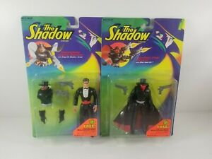 Kenner-1994-Lightning-Draw-Shadow-amp-Transforming-Lamont-Cranston-Action-Figures