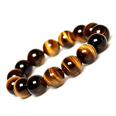 Natural Round Yellow Tiger Eye Loose Gemstone Spacer Charms Beads 4/6/8/10/12 mm