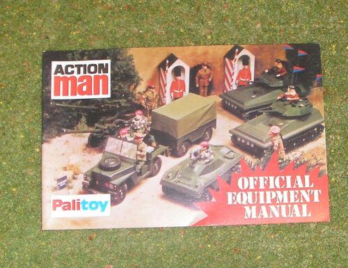 Vintage Action Man 40th Officiel équipement manuel Grenadier Guards