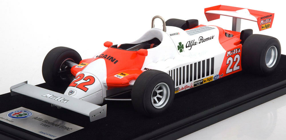 1 18 LOOK SMART ALFA ROMEO 179 C GP Germany Andretti 1981