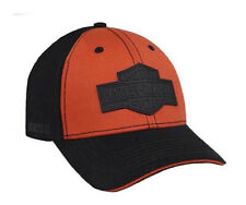 Black HARLEY-DAVIDSON Mens Tonal Bar /& Shield Logo 59Fifty Cap