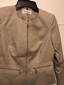 Femme Naturel Calvin Neuve P 4 Taille Klein Étiquettes color Sans Veste wvvEqa4