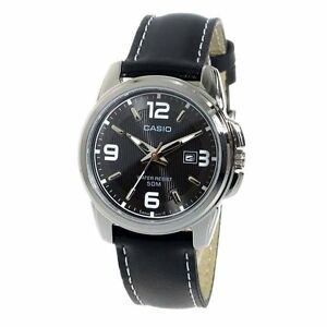 LTP-1314L-8A-White-Casio-Ladies-Watches-Analog-Leather-Bands-No-Box
