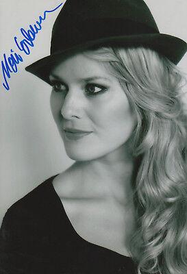 Music Classical, Opera & Ballet Painstaking Mari Eriksmoen Opera Signed 8x12 Inch Photo Autograph