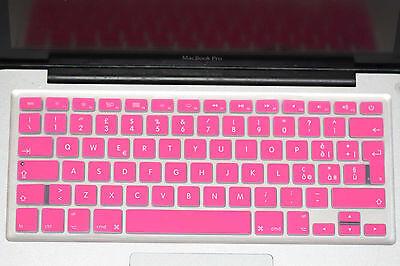 """Keyboard Protector Skin Cover f Macbook Air Pro Retina 13"""" 15"""" DK Sp UK DE FR US"""