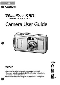 DOWNLOAD DRIVER: CANON POWERSHOT S50