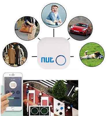 Mini Nut Smart Tag Bluetooth Child Pet Key Finder Alarm Locator Tracker US