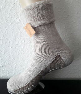 2c958a4ea Ladies ABS Stopper Socks with Cover Alpaca Wool and Wool Natural 35 ...
