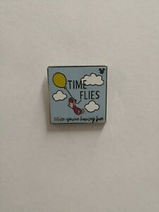 Details about Pooh Quotes Time Flies Fun Hidden Mickey 2019 DLR Disney Pin  134123