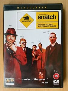 Snatch-DVD-2000-British-Gangster-Crime-Classic-w-Jason-Statham-2-Disc