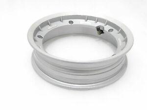 Vespa-Scooter-Alloy-Aluminium-Grey-Tubeless-Tyre-10-034-Wheel-Rim