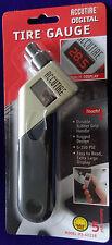 ACCUTIRE TIRE Pressure Gauge Digital LCD Display MS4021B 5-150 PSI