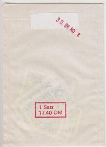 Bund-ATM-1-1-VS-1-im-Versandstellen-Tuetchen-30-09-1980-8-postfrisch-MNH