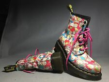 DOC DR MARTENS SANRIO HELLO KITTY BOOTS RARE 2010 LIMITED EDITION NEW 3UK 5 US