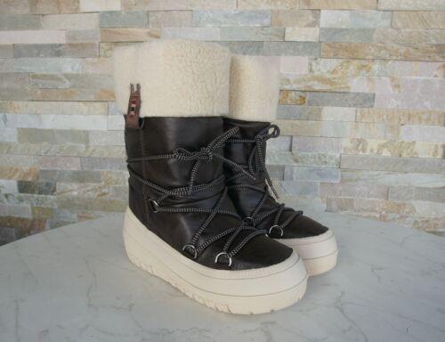 Boots Fur 36 Bella Brown Shoes Napapijri 5 Gr Winter Nuovo Stivali Snow xFYqXHp