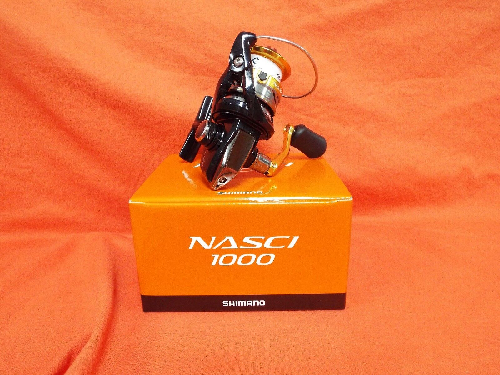 SHIMANO Nasci 1000 Spinning  Reel 5.0 1 Gear Ratio  NAS-1000FB  low-key luxury connotation
