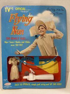 Vintage 1970 The Flying Nun TV Show Sally Fields Ray Line Rack Toy MIB Hasbro
