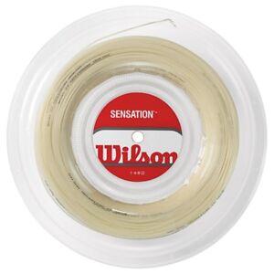Diligent (0,39€/m) Wilson Sensation 16 200 M Tennissaiten