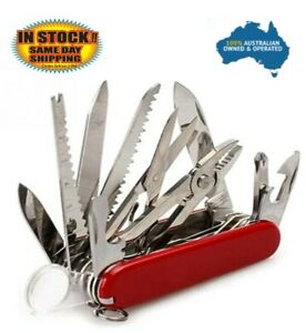 Multifunction-Camping-Knife-Outdoor-Swiss-Survival-Folding-Pocket-Army-Knife-Red