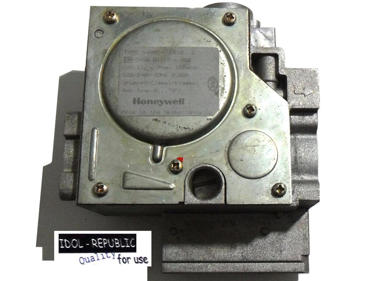 Honeywell - V4985A 1010 1 - Gaskombiventil - V 4985 A - Gasarmatur