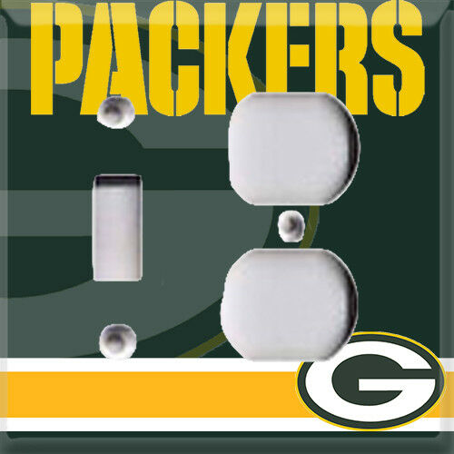 Football Green Bay Packers Light Switch Cover Choose Your Cover