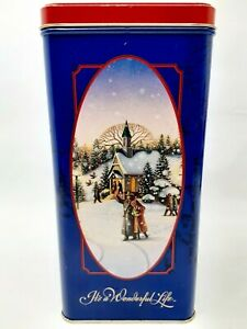1993 It's a Wonderful Life Collector's Limited Edition Tin Based on the Movie