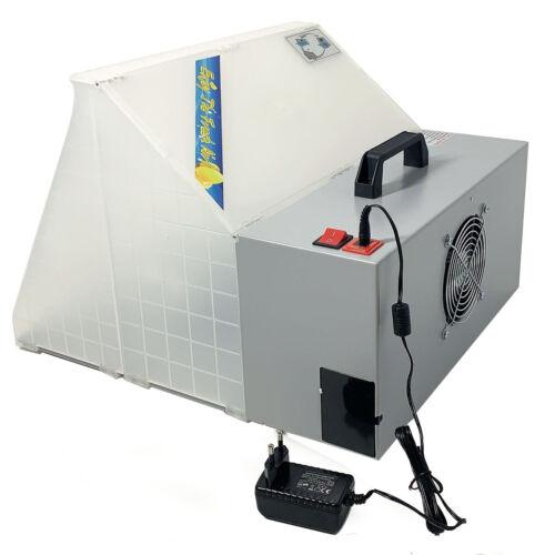 Tragbare Lackierkabine Sprühkabine Absauganlage Filter für Modellbau Airbrush