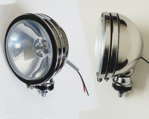 """2PCS  SIX INCH  6/"""" STAINLESS HOUSING OFF ROAD DRIVING//FOG LIGHT"""