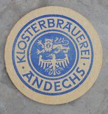 Sous-bock de bière Klosterbrauerei - Andechs un peu ancien, bon état