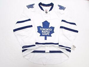 toronto maple leafs authentic away team issued reebok edge 2.0 7287 ... 63213d871