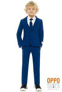 Blue-Boy-Blue-Suit-Children-Kid-039-s-Suit-Opposuit-Slimline-Premium-3-teilig